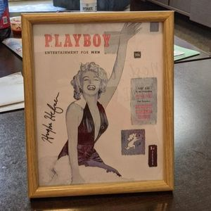 Marilyn Monroe Playboy Cover COPY